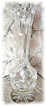 Click here to enlarge image and see more about item 1005200519: CUT GLASS VASE
