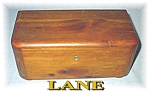 Click to view larger image of LANE Locking Jewelry Box Vintage (Image1)