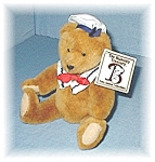 Click here to enlarge image and see more about item 1010200424: Fully Jointed BIALOSKY Teddy Bear
