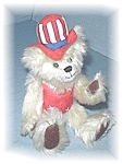 Uncle Sam Teddy Bear by TY - 9 inches tall