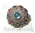 Fabulous Patented Multi Color Crystal Ring . . . . . .
