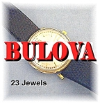 Click to view larger image of Vintage 23 Jewel BULOVA 10K GF Wristwatch (Image1)