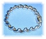Click to view larger image of STERLING SILVER BRACELET MADE IN ITALY..... (Image1)