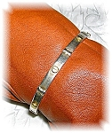Click to view larger image of STERLING SILVER BRACELET...... (Image1)