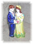 VINTAGE PORCELAIN BRIDE AND GROOM........