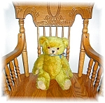 Click to view larger image of Mohair Jointed Teddy Bear Glass Eyes (Image1)