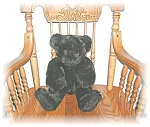 Click to view larger image of DK CHOCOLATE VERMONT TEDDY BEAR, JOINTED... (Image1)