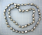 Grey Troca Pearl necklace 32 Inches