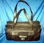 Click to view larger image of Kate Landry Handbag in black leather (Image2)