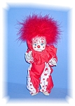 Click here to enlarge image and see more about item 1018200508: 9 INCH CHINA RUBBER BAND CLOWN DOLL
