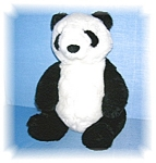Click here to enlarge image and see more about item 1019200511: PLUSH GUND PANDA BEAR