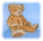 Click to view larger image of GOLDEN LUXURIOUS RUSS TEDDY BEAR..... (Image1)