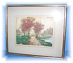 Click here to enlarge image and see more about item 1019200514: FRAMED ETCHING NUMBER 28 - PIERRE