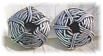 Click to view larger image of STERLING SILVER CLIP EARRINGS - SIGNED..... (Image1)
