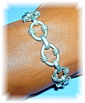 Bracelet Large LinksTaxco Mexico Sterling Silver
