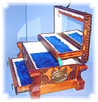 Prison Tramp  Art Wooden Music Jewelry Box
