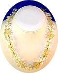Vintage NAPIER Lucite  Necklace