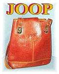 Click to view larger image of Large Golden Leather Designer JOOP Handbag (Image1)
