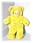 Click here to enlarge image and see more about item 1023200460: 15 Inch Blonde Fur Anne Geddes Doll