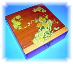 Vintage Decorative Wooden Box - deqipage