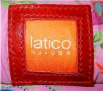 Click to view larger image of Bag Purse Red leather  By Latico  (Image3)
