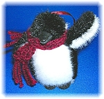Click here to enlarge image and see more about item 1028200610: CHILLY FROSTBITE PENQUIN BY BOYDS BEARS ARCHIEVE COLLEC