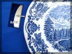 Click to view larger image of Wedgwood Blue ROYAL HOMES OF BRITAIN Dinner Plate (Image4)