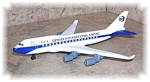 Click here to enlarge image and see more about item 1029200505: DICAST COMMEMORATIVE DIA AIRPLANE