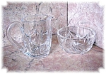 WATERFORD CRYSTAL SUGAR AND CREAMER......