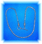 Necklace Sterling Silver Bali Toggle Clasp