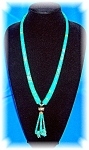 Necklace Antique Navajo Turquoise Coral Sterling Silver