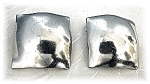 Click to view larger image of Large Square ROBIN KAHN Clip Earrings (Image1)
