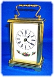 Click to view larger image of Royal Doulton Bulova Carriage Clock (Image1)