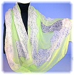 Click to view larger image of HAND ROLLED PURE 100% SILK SCARF a Top Hit FASHION (Image1)
