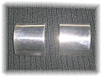 Mexican Taxco Sterling Silver Clip Earrings