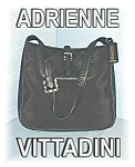 Click here to enlarge image and see more about item 1107200469: Black Leather  Microfibre Adrienne Vittadini
