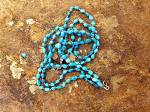 Click to view larger image of GUNDI Sleeping BeautyTurquoise 3 Strands Necklace  (Image2)