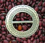 Native American Sterling Silver RICHARD YAZZIE Belt Buc