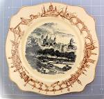 Click here to enlarge image and see more about item 1111201107: Tower of London Plate by A. J. Wilkinson LTD. England