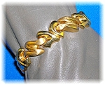 Click here to enlarge image and see more about item 1112200614: Bracelet 14K Yellow Gold Italian Designer