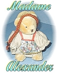 Click here to enlarge image and see more about item 1113200437: Madame Alexander Anne At The Station Bear