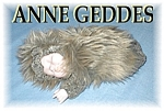 Click here to enlarge image and see more about item 1113200439: ANNE GEDDES Baby Hedgehog Doll