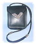 Click here to enlarge image and see more about item 1115200506: BEAUTIFUL BLACK LEATHER BRIGHTON BAG.....