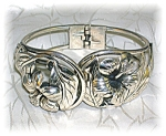 Click here to enlarge image and see more about item 1115200641: Sterling Silver DANECRAFT Pull Apart Flower Bracelet
