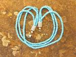 Click to view larger image of Native American Sleeping Beauty Turquoise Sterling Silv (Image2)