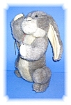 Click here to enlarge image and see more about item 1116200503: FULLY JOINTED 'BOYDS' RABBIT - HIGGINS.......