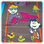 PEANUTS characters SCARF charles schultz