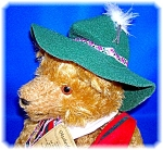 Click to view larger image of Mohair Bear Hermann Octoberfest Musical  (Image1)