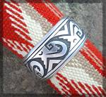 Click to view larger image of TOMMY SINGER Native American Sterling Silver Cuff (Image3)