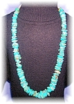 AMERICAN INDIAN TURQUOISE NECKLACE..